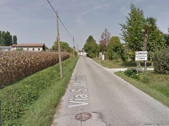 La frazione di Santa Marizza, Varmo (Udine) in cui si trova la casa vacanze della famiglia di Nova Milanese avvelenata dal tallio